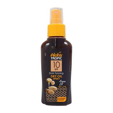 ALOHA DRY OIL SPF 10 (ARGAN) 100ml
