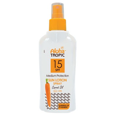 ALOHA SUN LOTION SPF 15 (CARROT) 200ml