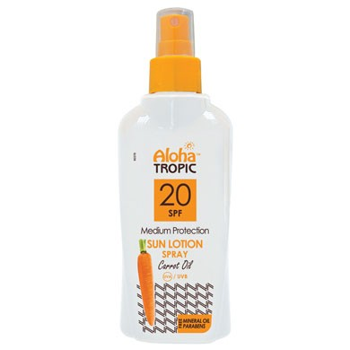 ALOHA SUN LOTION SPF 20 (CARROT) 200ml