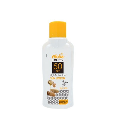 ALOHA SUN LOTION SPF 50 (ARGAN) 100ml